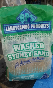 Sand is an important ingredient in creating your own organic potting mix as it provides air