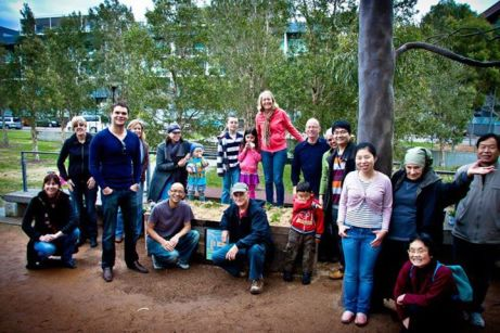 Green Square Growers at Joynton Park, Zetland Community Garden Patch